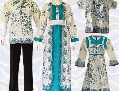 Baju Batik Couple Modern Terbaru 2017