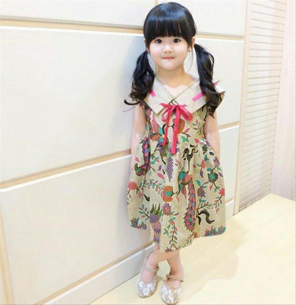 baju batik anak perempuan